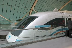 Maglev high speed train Shanghai