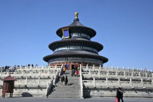 Temple of Heaven built 1420 AD