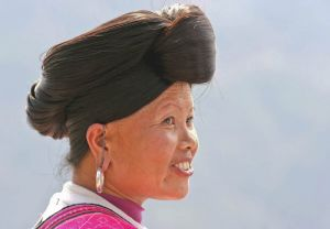Woman of Yao Minority (Longhair Tribe)