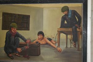 Actual paintings of the tortures performed