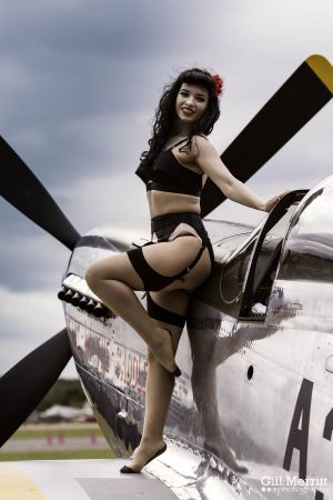 American Pin up