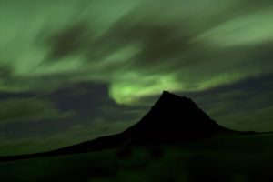 Northern Lights - Kirkjufell