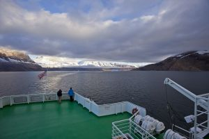 Sailing the fjords