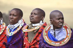 Masai women from East Africa