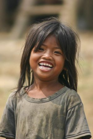 Mekong River child