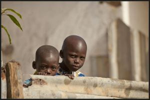 Gambian children